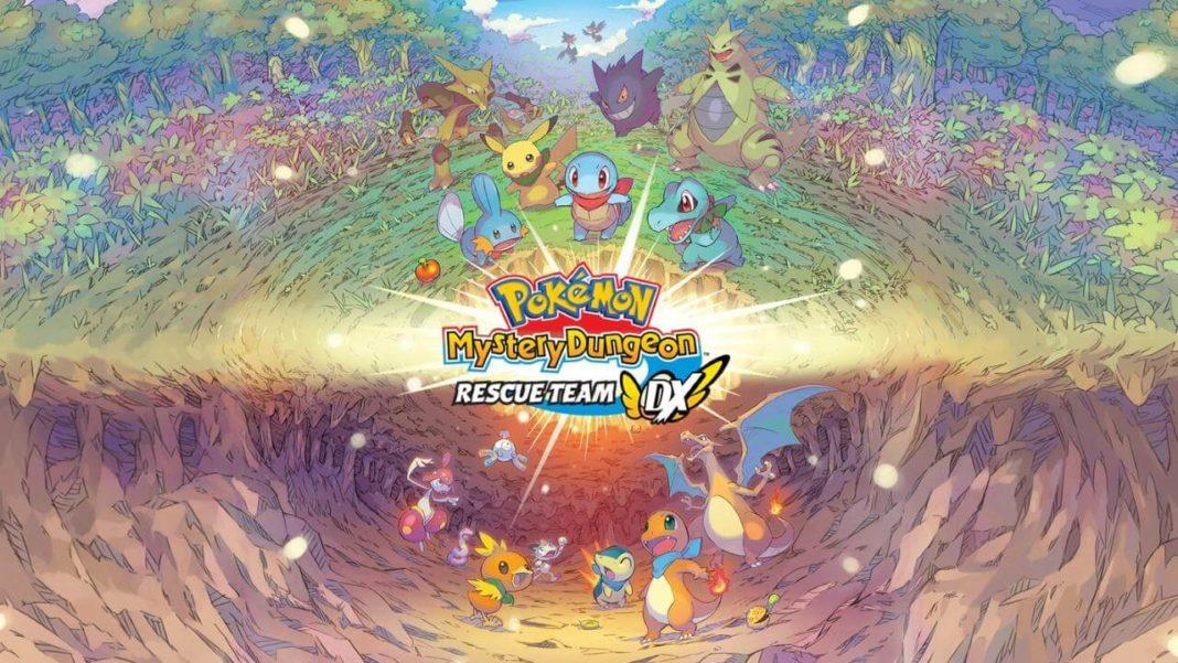 Pokemon Mystery Dungeon Rescue Team DX