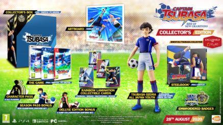Captain Tsubasa: Rise Of The Champions - Collector's Edition