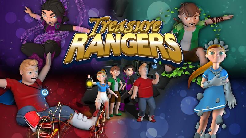 PSPLUS TREASURE RANGERS