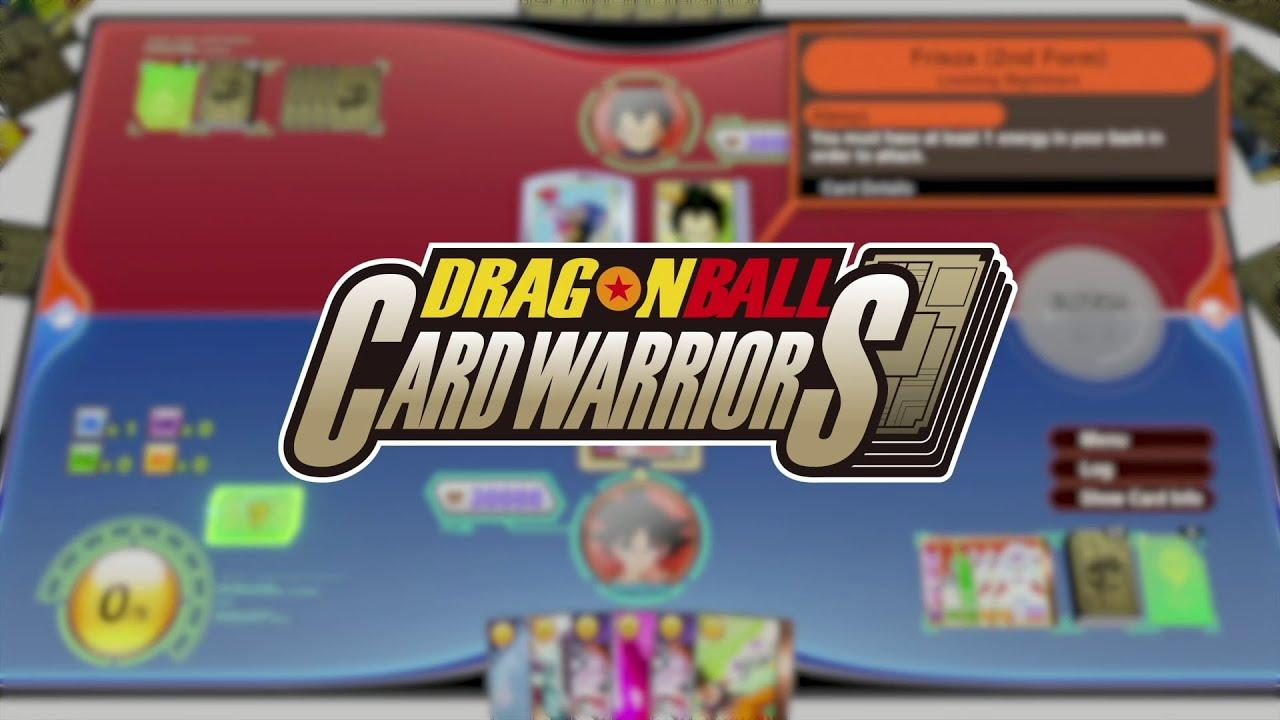 Dragon Ball Card Warriors para Dragon Ball Z Kakarot | Salão de Jogos