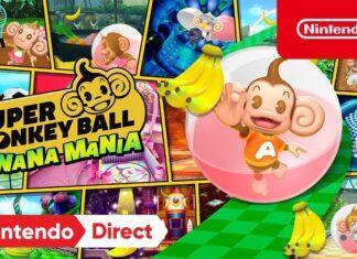 Super Monkey Ball Banana Mania anunciado para a Nintendo Switch